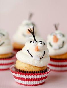 Disney's Frozen Movie Cupcakes