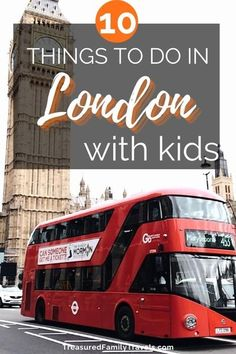 Headed to London with kids? This informative guide will tell you the best 10 things to do in London, England.. Cross off bucket list attractions such as Buckingham Palace and the Changing of the Guard. Travel by boat and explore places old and new such as Parliament and The London Eye. Read this and experience the best London has to offer. #London #LondonWithKids #familytravel #travelwithkids #Londonthingstodo #Londonattractions #familytime #LondonEye