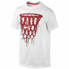 Nike Circuit Net T-Shirt - Boys' Grade School - Black/Light Photo Blue
