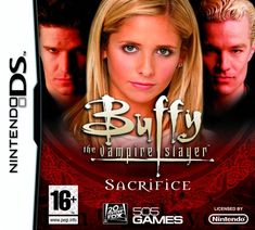 Sixth in the Buffy the Vampire Slayer Video Game Series released in Sacrifice Handheld Video Games, Video Game Collection, Game Prices, New Video Games, Ds Games, Buffy The Vampire Slayer, Geek Out, Nintendo Ds, Video Game Console