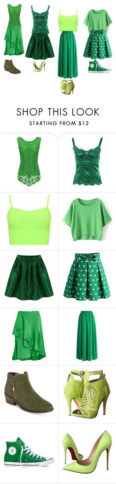 """""""XD"""" by averypjohnstone ❤ liked on Polyvore featuring Dolce&Gabbana, WearAll, Chicwish, Lanvin, Aerosoles, Michael Antonio, Converse and Christian Louboutin"""