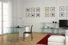 Like the art gallery minimalistic feel.