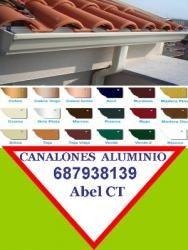 Canalones Aluminio Murcia Acero inoxidable Cobre Zinc