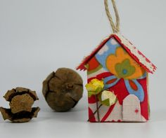 Christmas Tree Ornament Decorative Paper Ornament Mini by ArzuMusa