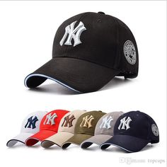 11 Color Yankees Hip Hop MLB Snapback Baseball Caps NY Hats Unisex Sports  New York Adjustable Bone Women casquette Men Casual headware 3484dc96b686