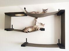 Tela laberinto de gato Cat hamaca por CatastrophiCreations en Etsy