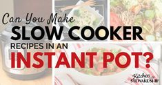 Can you make slow cooker recipes with an electric pressure cooker? Why, Yes you can! Find out how...