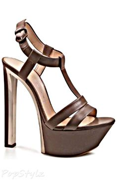 Casadei Platform Leather Sandal