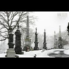 MonumentRowSnowyDay #answers #questions #mystery #mysteries #mysterious #canoncameras #canonphotography #canon #canon_official  #photoshop #photographicart #mausoleum #togetherforever #time #symbolism #surreal #insta_armagh #freedomthinkers #heatercentral #symbolism #featureshotz #age #mystiquephotos #thelenslives #snowstorm #snow #winter #canonartists #cemetery #past #time #shooterssociety
