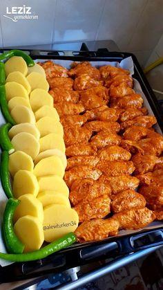 Chicken Wings, Karma, Salad Recipes, Chicken Recipes, Drink, Ethnic Recipes, Recipe, Turkish Food Recipes, Beverage