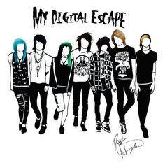 My Digital Escape Alex Dorame, Johnnie Guilbert, Shannon Taylor, Jordan Sweeto, Jeydon Wale, Bryan Stars, Kyle David Hall.