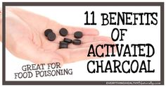 11 Benefits of Activated Charcoal - Everything Healthy Naturally