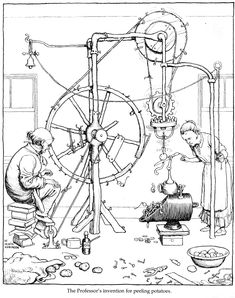 Write about a contraption you would invent if you could to improve life. It can be realistic and practical or it can be fantastic (a fantasy contraption) with magical powers.