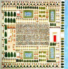 Las plantas en el A.E: jardín de Sennefer