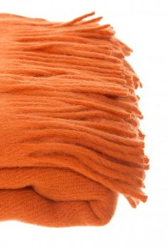 Home Collection - Manta De Llama Twin Naranja