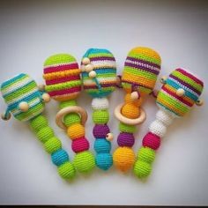 Ravelry: Antris & # Crochet rattle Related posts:Knitting Toy River Baby RecipeTop Learning Toys to Help Boost Baby's DevelopmenFelt Baby Shoes PDF Pattern Free Easy Video Tutorial Crochet Baby Toys, Crochet Amigurumi, Amigurumi Patterns, Crochet For Kids, Crochet Dolls, Simple Crochet, Amigurumi Toys, Baby Knitting Patterns, Baby Patterns