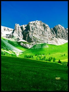 The Dolomities in Trentino, Italy