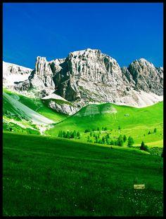 The Dolomities in Trentino, Italy