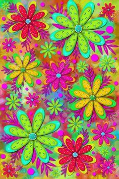 15104589-Scrapbooking-Mod-e-divertente-sfondo-ha-fiore-a-strati-con-3D-colori-brillanti-perle-brillanti-di-fi-Archivio-Fotografico.jpg (863×1300)