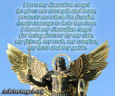 I love my Guardian Angel. Follow us on IG @ askanangel1 or Visit AskAnAngel.org