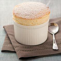 Hot vanilla scouffle!!  MORE heaven on a plate!