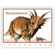 Dinosaur Puzzle on MontessoriByMom.com