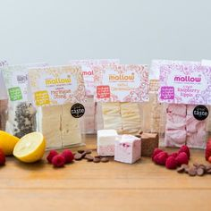 The Art of Mallow proudly present to you their entire range of delicious handmade gourmet marshmallows.  This would blow the socks off any marshmallow lover! #eastergifts #marshmallows