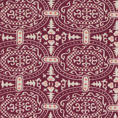 Amy Butler Linen/Cotton Memoir, Garnet - $16/yard