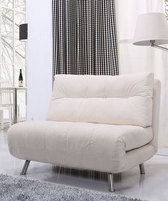 This Ivory Tampa Convertible Big Chair/bed by Gold Sparrow is perfect! #zulilyfinds