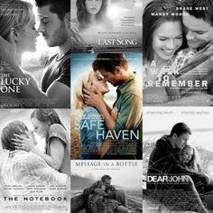 All of Nicholas Sparks movies
