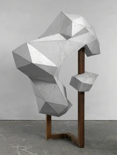 exasperated-viewer-on-air: Toby Ziegler - The Cripples (3), 2012 (HQ PHOTO) oxidised aluminium and timber 85 3/10 × 57 7/10 × 50 2/5 in / 16.6 × 146.5 × 128 cm