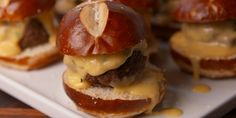 Pair these mini burgers with a flight of beers and you are SET.