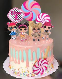 Birthday surprise ideas funny 25 Ideas for 2019 Birthday Kek, Doll Birthday Cake, Funny Birthday Cakes, Lol Doll Cake, Barbie Cake, Birthday Party Decorations, Birthday Parties, Cupcake Cakes, Cupcakes