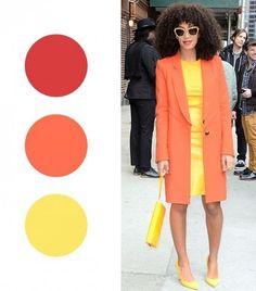 Правильное сочетание цветов. Маленькая шпаргалка для комбинирования оттенков в одежде! | BEAUTY&woman | Яндекс Дзен