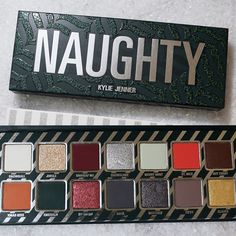 Kylie Cosmetics Naughty and Nice Holiday Palettes 2017 | POPSUGAR Beauty