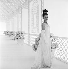 Audrey Hepburn in a promotional still for My Fair Lady in 1964