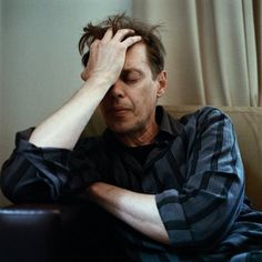 Real Men Cry. Photo series by Sam Taylor-Wood. | Steve Buscemi.