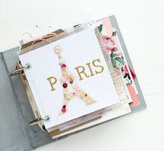Paris Mini album by SteffiandAnni at @studio_calico