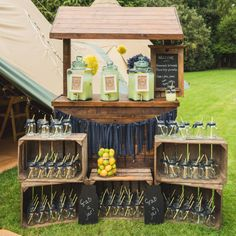 Rustic Lemonade Stand Hire <3 Perfect For Weddings, Birthday Party Or Any…