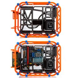 IN WIN D-Frame roll-cage inspired computer case