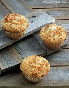 Scones, Food And Drink, Cupcakes, Breakfast, Recipes, Coconuts, Polo, Food Cakes, Morning Coffee