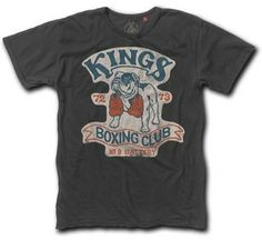 Image of Kings Boxing — Last Match Cool Graphic Tees, Cool Tees, Cool T Shirts, Tee Shirts, Shirt Logo Design, Shirt Designs, Graphic Design, Shirt Store, T Shirts With Sayings