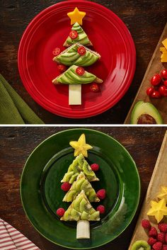 Perfect For Holiday Breakfasts: Christmas Tree Toast & Waffles. Whether your family likes toast or waffles, this simple breakfast is easy to assemble on Christmas morning.