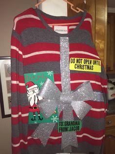 Jacob's sweater : )