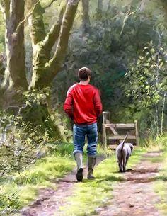 Caminhando Com o Cão