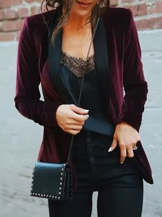 Mode Outfits, Casual Outfits, Fashion Outfits, Womens Fashion, Rock Chic Outfits, Edgy Work Outfits, Dress Outfits, Lace Outfit, Casual Bags