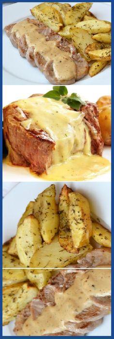 Cocina – Recetas y Consejos Kitchen Recipes, Cooking Recipes, Pork Recipes, Healthy Recipes, Good Food, Yummy Food, International Recipes, Food Porn, Food And Drink