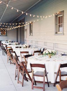 Belle Meade Plantation wedding reception round tables