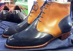 Carreducker - Two Toned Darby Boot