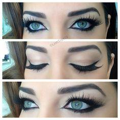 Close up of @alvi_m's gorg eyes  #makeupbylinh #makeup #eotd - @linhtran70- #webstagram